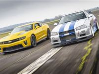 Double Movie Car Driving Blast with High Speed Passenger Ride - Special Offer Experience Day