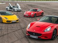 Four Supercar Driving Blast with Free High Speed Passenger Ride - Special Offer Experience Day