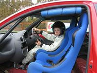 Junior Driving Experience at Silverstone Rally School