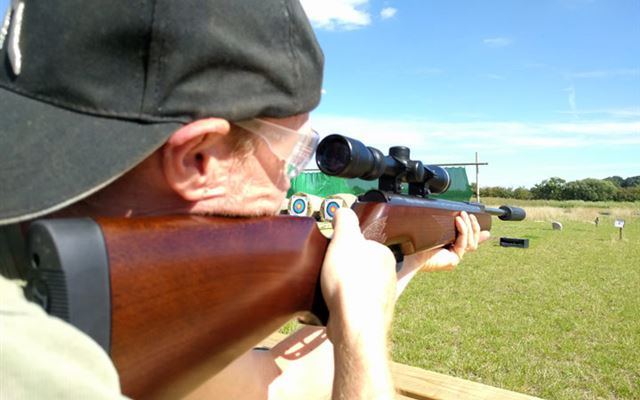 Air Rifle Shooting Experience with Exploding Targets for Two Dreamdays Experience 1