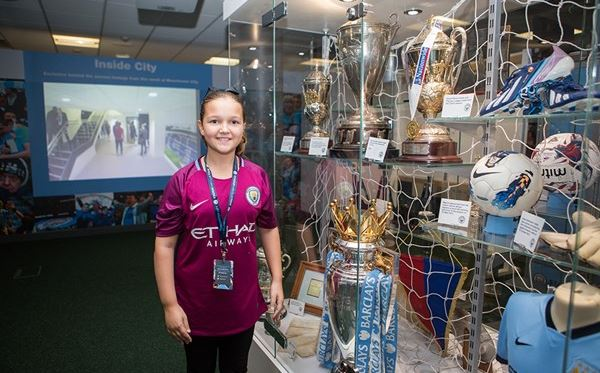 Child Tour of Manchester City Stadium Dreamdays Experience 1