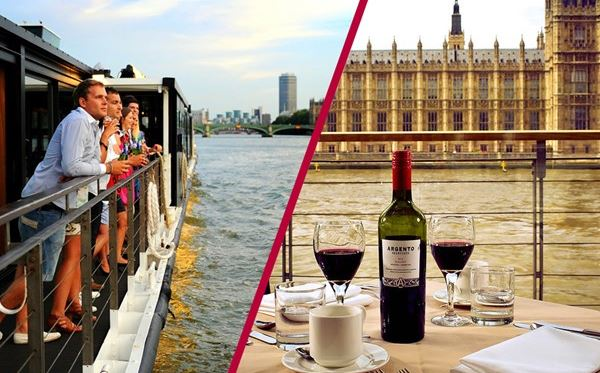 Coca Cola London Eye Tickets and Bateaux Lunch Cruise for Two Dreamdays Experience 1