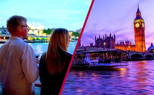 Coca Cola London Eye Tickets and Bateaux Thames Dinner Cruise for Two Dreamdays Experience 1