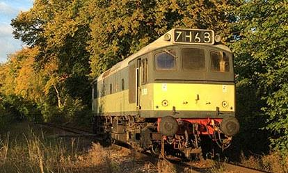 Drive a Heritage Diesel Train Dreamdays Experience 1