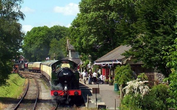 Family Steam Railway Day Rover Ticket on the East Somerset Railway Dreamdays Experience 1