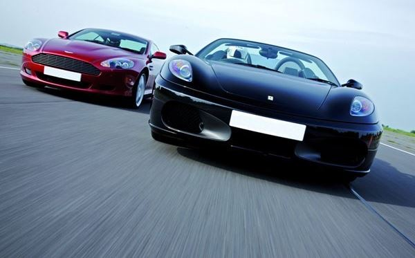 Ferrari and Aston Martin Driving Thrill with Passenger Ride Dreamdays Experience 1