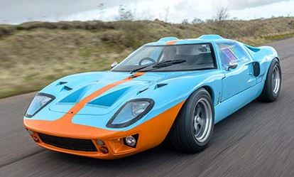 Ford GT40 Drive Dreamdays Experience 1
