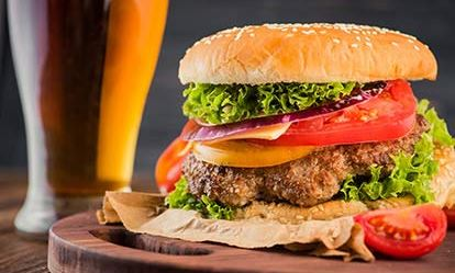 Gourmet Burger Meal and a Craft Beer for Two Dreamdays Experience 1