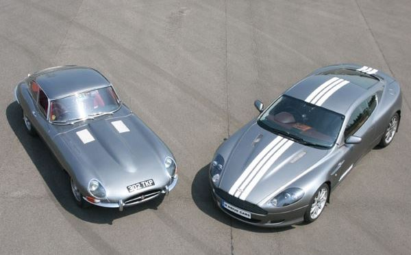 Jaguar E Type and Aston Martin Driving Thrill Dreamdays Experience 1