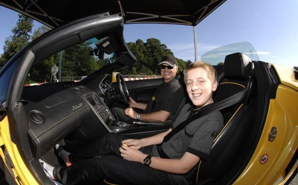 Junior Supercar Driving Thrill with Passenger Ride Dreamdays Experience 1