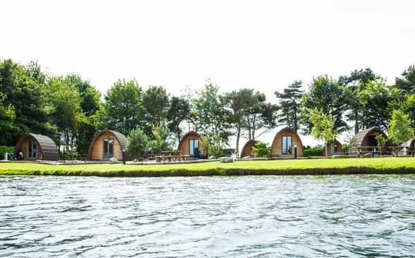 One Night Break in a Private Camping Pod at Lake Dacre Dreamdays Experience 3