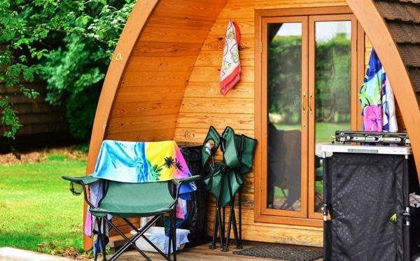 One Night Stay in a Camping Pod at The Old Rectory Camping Park Dreamdays Experience 3