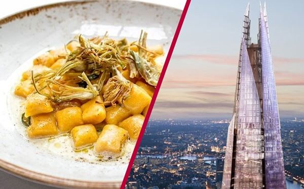 The View from The Shard with 3 Course Michelin Dining and Bubbles for Two Dreamdays Experience 1