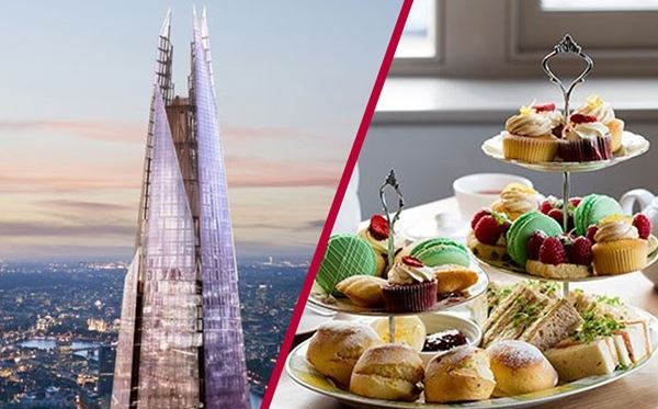 The View from The Shard with Luxury Afternoon Tea for Two Dreamdays Experience 1