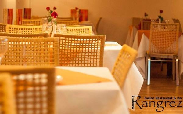 Three Course Indian Meal with a Glass of Wine for Two at Rangrez Dreamdays Experience 2