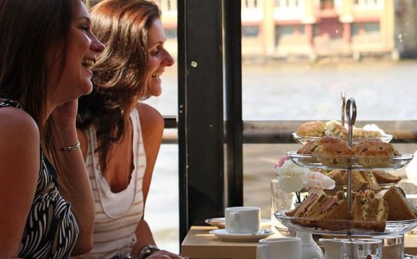 Traditional Afternoon Tea on the Thames for Two Special Offer Dreamdays Experience 2