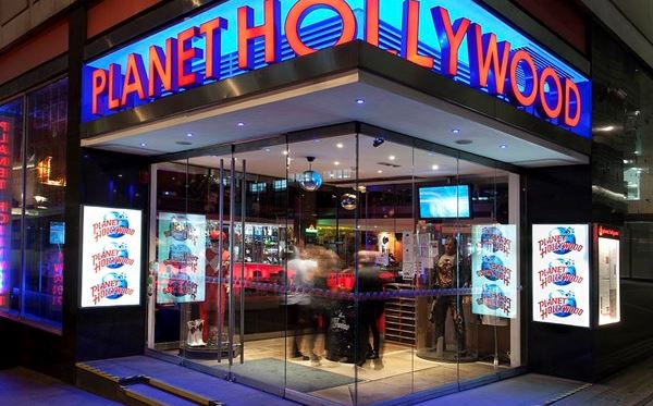 Two Course Meal for Two with Drinks at Planet Hollywood Dreamdays Experience 1