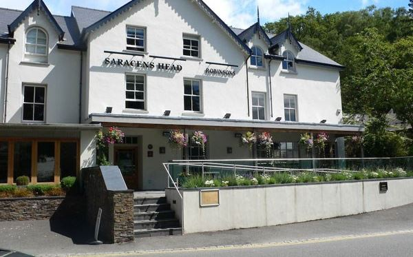 Two Night Stay at The Saracens Head Hotel with 2 Course Dinner for Two Dreamdays Experience 1