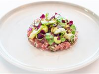 3 Course Michelin Lunch with Champagne for 2 at Angler South Place