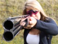 Clay Pigeon Shooting for Two with 100 Clays Experience Day
