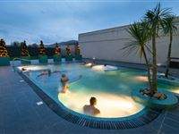 Deluxe One Night Spa Break with Dinner at The Malvern Spa Hotel for Two