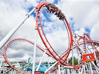 Drayton Manor Park Tickets with Afternoon Tea for Two Adults Experience Day