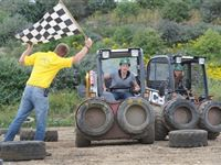 Dumper Racing at Diggerland