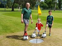 Entry to Foot Golf at North Wales Golf Course for Two Adults - Kids Go Free Experience Day