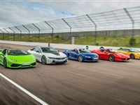 Five Supercar Driving Blast with Free High Speed Passenger Ride - Special Offer Experience Day