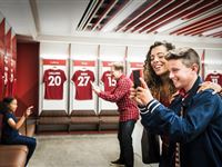 Liverpool FC Stadium Tour with Museum Entry for One Adult and One Child