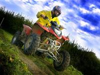 Rage Buggy and Quad Bike Experience at London Rally School for One