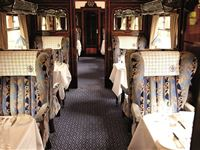 Steam Hauled Golden Age of Travel on Belmond British Pullman for Two