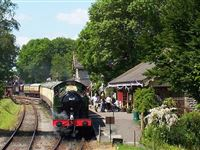 Steam Train Trip with a Footplate Visit for Two on the East Somerset Railway
