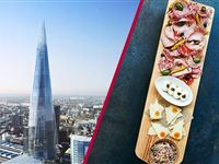 The View from The Shard and 3 Course Meal with Prosecco at Jamies Italian Experience Day