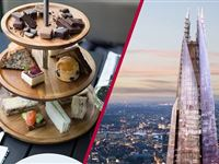 The View from The Shard and Sparkling Afternoon Tea at Hotel Chocolat for Two Experience Day