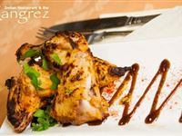 Three Course Indian Meal with a Glass of Wine for Two at Rangrez Experience Day