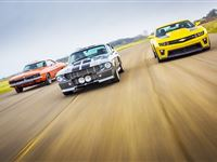 Triple Movie Car Driving Thrill with High Speed Passenger Ride - Special Offer Experience Day