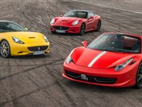Triple Supercar Thrill with Free High Speed Passenger Ride - Special Offer Experience Day
