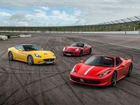 Triple Supercar Thrill with Free High Speed Passenger Ride - Week Round Experience Day