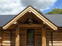 Two Night Stay in a Log Cabin at Badgers Wood Hoo Farm